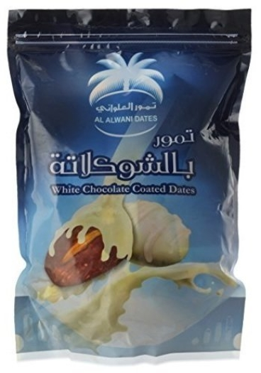 Siafa White Chocolate Coated Dates 500g