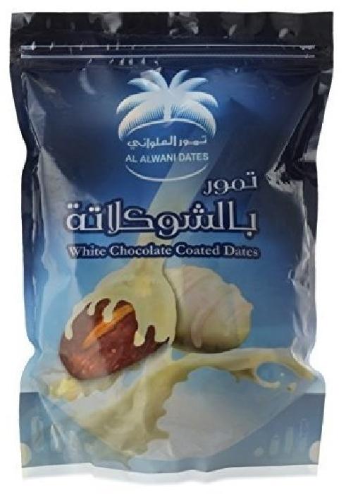 Siafa White Chocolate Coated Dates 500g