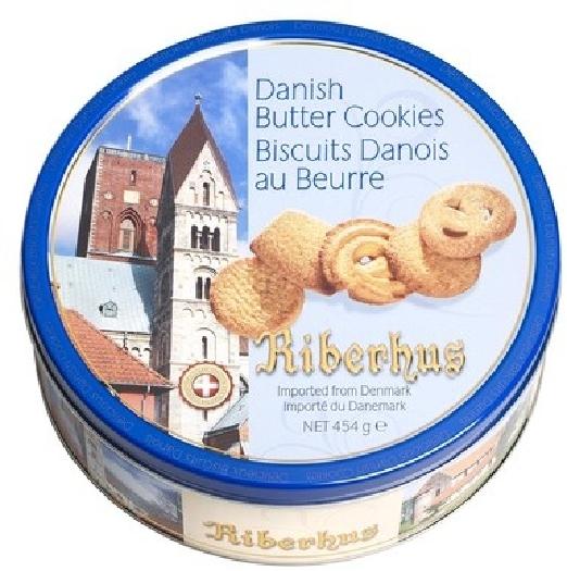 Kelsen Riberhus Butter Cookies 454g