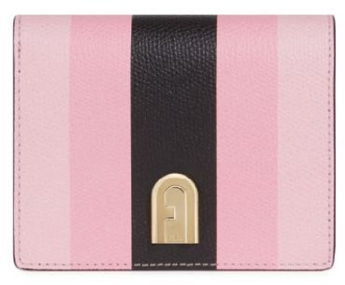Furla 1927 S Bifold Wallet, Chiaro-Pink-Nero, 1056391