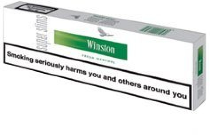 Winston Super Slims Fresh Menthol 200s NHW