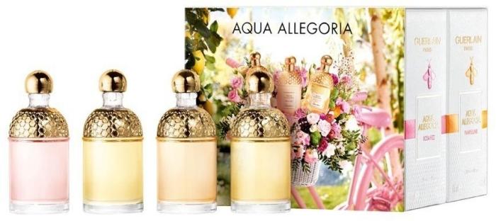 Guerlain Aqua Allegoria Miniatures Coffret EdT 7,5ml x 4