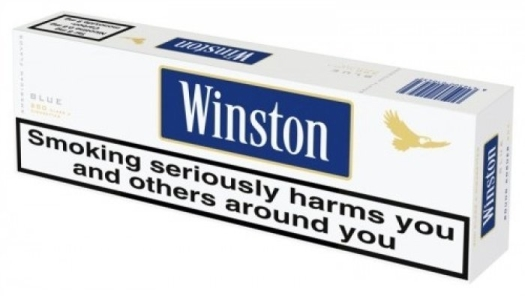Winston Blue Carton