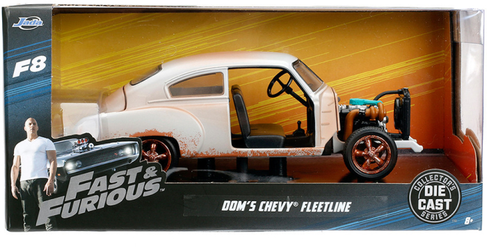 JADA Diecast Fast&Furious 8 Chevy Fleet L 1/24