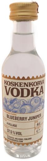 Koskenkorva Blueberry Juniper Vodka 37.5% 0.04L