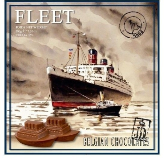 Starbrook Fleet Milk Chocolate Cruise Ships 200g