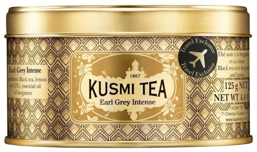 Kusmi Tea Kusmi Intense Earl Grey metal box 125g