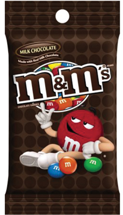M&M's Milk Chocolate Peg 150g
