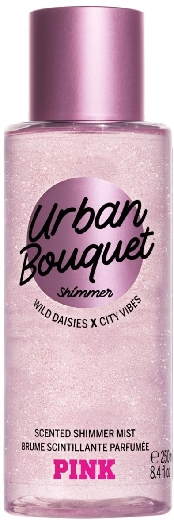 Victoria's Secret Pink Body Urban Bouquet Shimmer Mist 250ML
