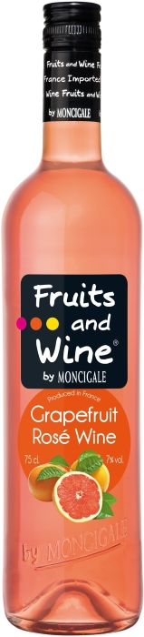 Fruits and Wine Grapefruit Rose 0.75L