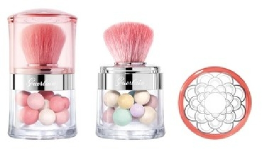 Guerlain Les Meteorites Set: Meteorites Pearls Miniature + Blush Pearls Miniature N° 02 Medium