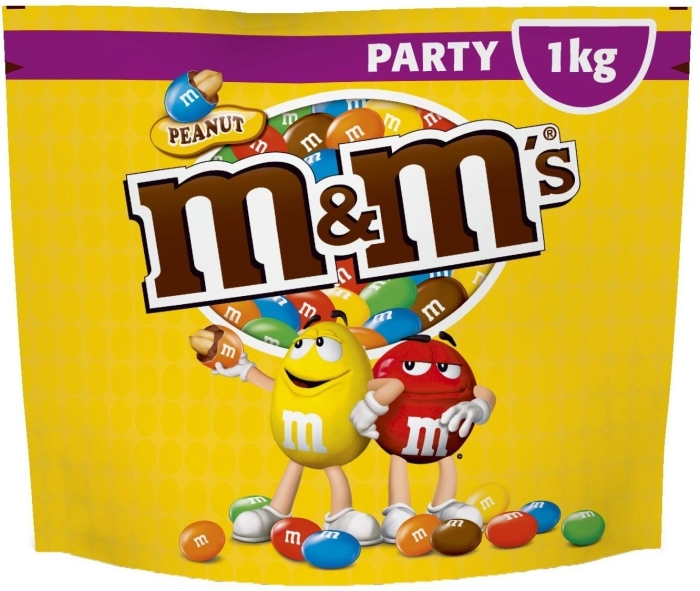 M&M's Peanut Party Pack 1000g