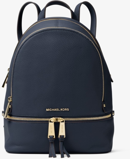 Michael Kors Rhea Medium Leather Backpack