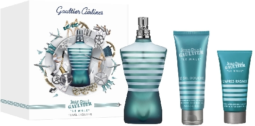 Gaultier Airlines Jean Paul Gaultier Le Mâle Travel Set 100ml+75ml+50ml