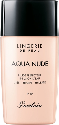 Guerlain Lingerie de Peau Aqua Nude Foundation N02W Light Warm 30ml