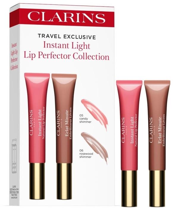 Clarins Instant Light Lip Perfector Set 2x12ml