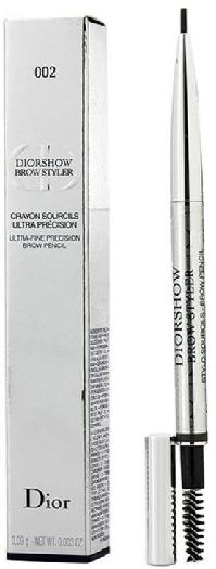 Diorshow Brow Styler Eyebrow Pencil N° 002 Universal Dark Brown 0.09g