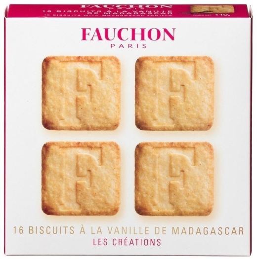 Fauchon 16 Vanilla Biscuits 110g