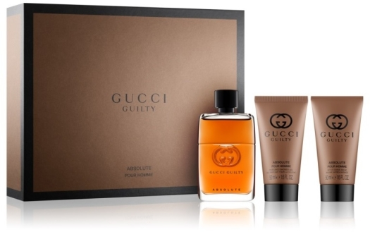 GUCCI Guilty Absolute Pour Homme Set 90ml+50ml+50ml