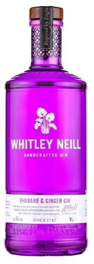 Whitley Neill Rhubarb&Ginger Gin 1L