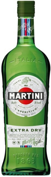 Vermouth Martini Extra Dry 1L