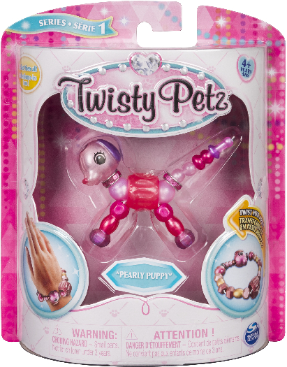 Spin Master Twisty Petz Single Pack - Pearly Puppy 50g