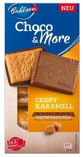 Bahlsen Choco&More Crispy Caramel 120g