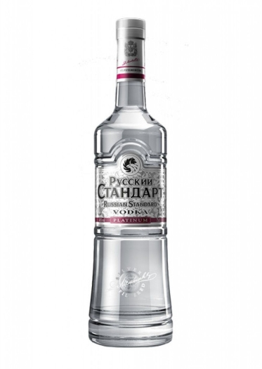 Russian Standard Vodka Platinum 40% 3L
