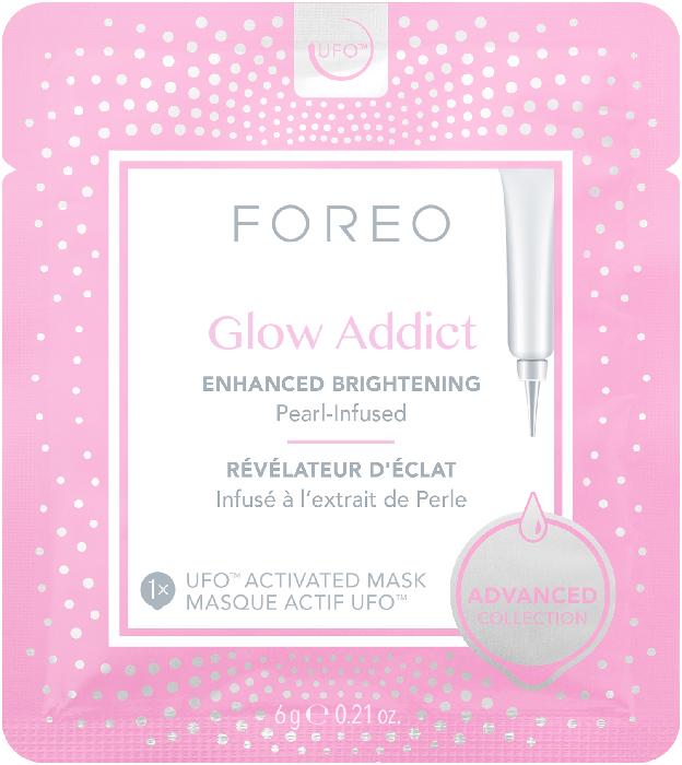 Foreo UFO Masks Glow Addict x 6 brightening