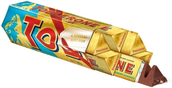 Toblerone Crunchy Almonds 6х100g