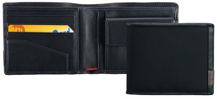 Tumi 0119237DID Wallet with Coin Pocket