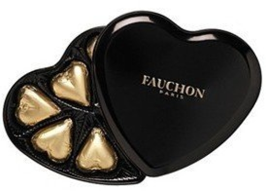 Fauchon 7 Dark Hearts tin 75g