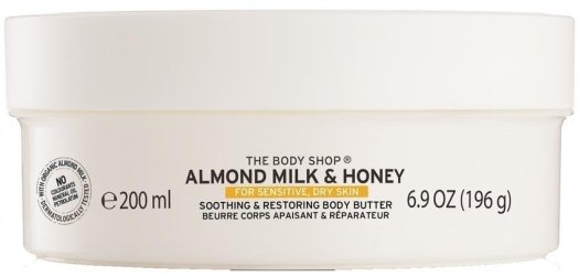 The Body Shop Almond Milk Honey Body Butter 200ml