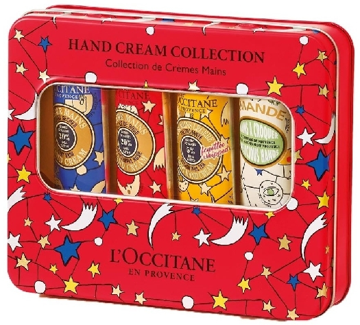 L'Occitane en Provence L'Occitane en Provence Skin Winter Tin Box Set 30ml+30ml+30ml+30ml