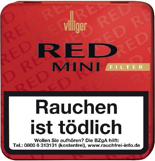 Villiger Red Mini Filter 5x20s