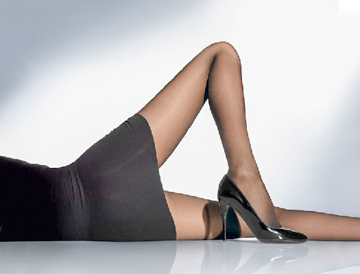 Wolford Pure Energy 30 Leg Vitalizer Tights L