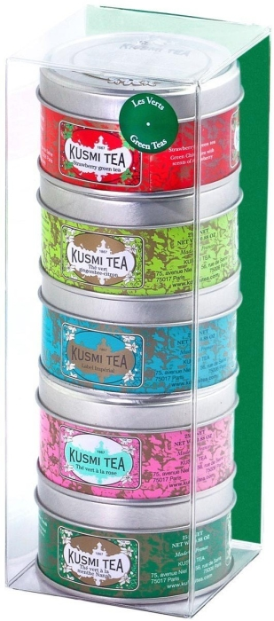 Kusmi Tea KUSMI Green Teas Sampler 5x tins 25g