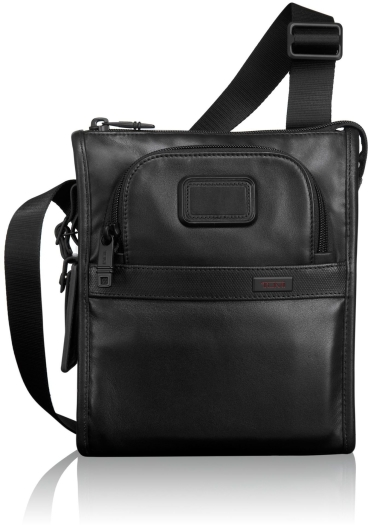 Tumi 092110D2 Leather Crossover Bag