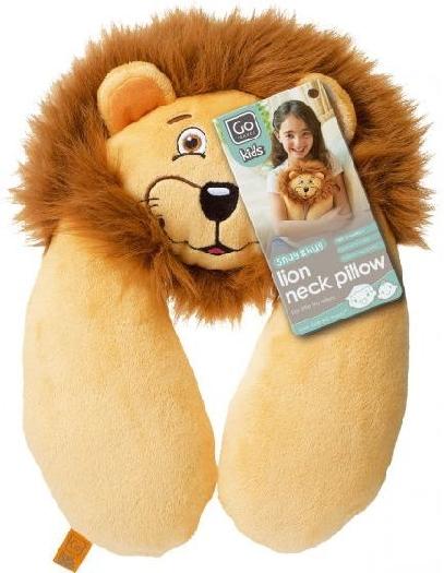 Design Go Go Travel Kids Pillow Neck Lion 2702 2702 Brown