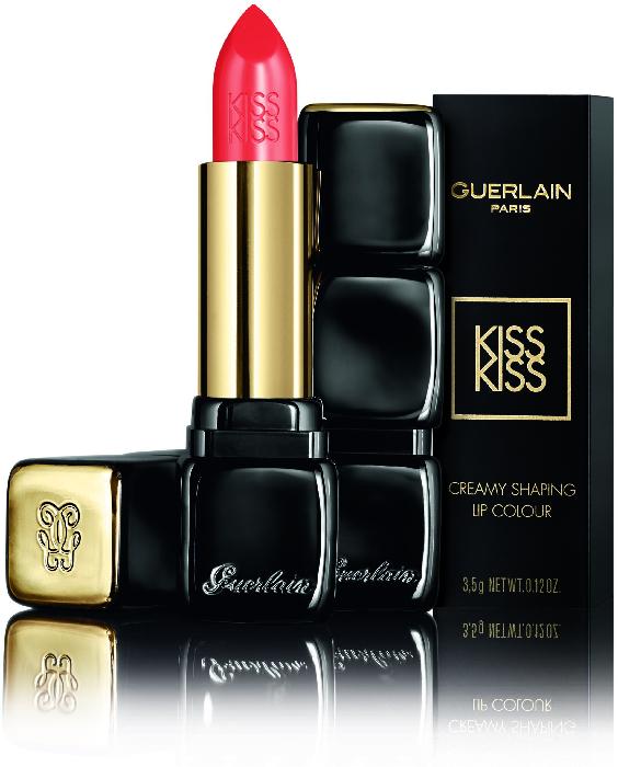 Guerlain KissKiss Lipstick 344 sexy coral 4.3g
