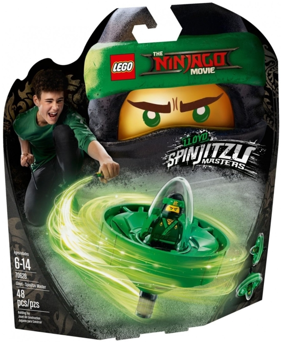 LEGO Ninjao Movie Lloyd Spinjitzu Master