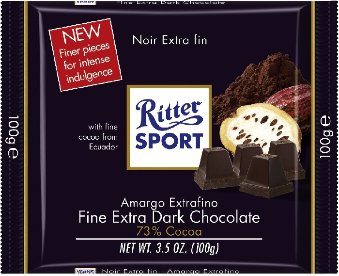 Ritter Sport Extra Dark 73% 100g