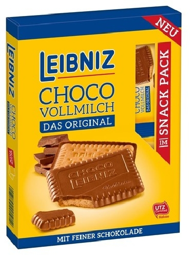 Leibniz Biscuit with milk chocolate 110g
