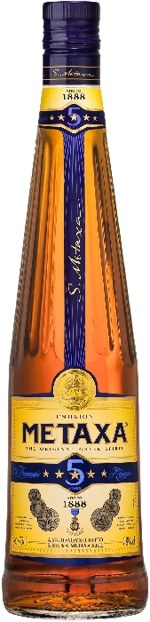 Brandy Metaxa 5* 0.5L