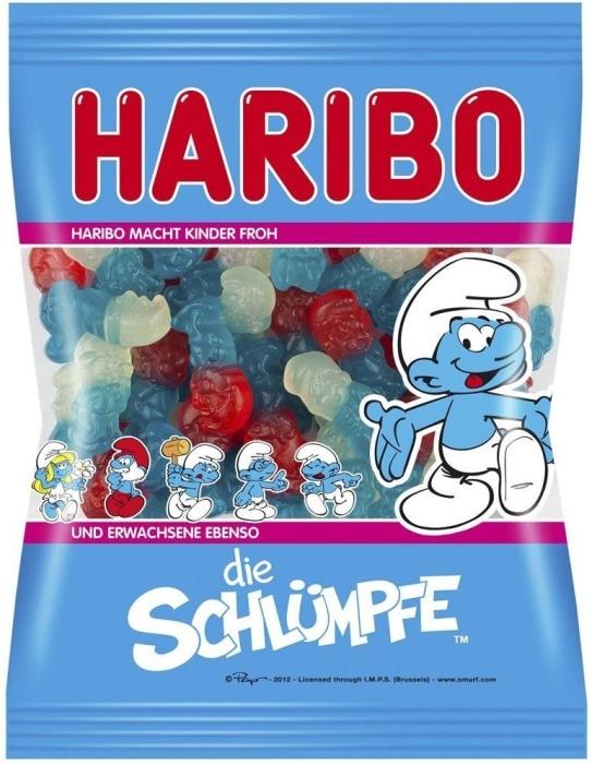 Haribo Smurfs 450gr