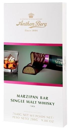 Anthon Berg Marzipan Bars Whisky 280g