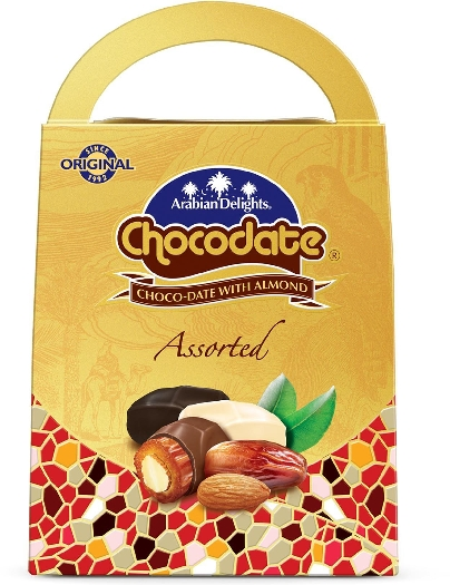 Chocodate Chocolate Dates Assorted 750g