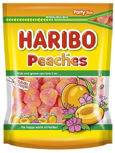 Haribo Pouch Peaches