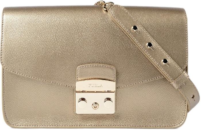 Furla Handbag Metropolis 903860 Bronze