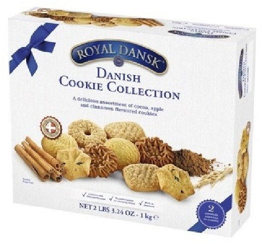 Royal Dansk Danish Cookies tin box 1kg